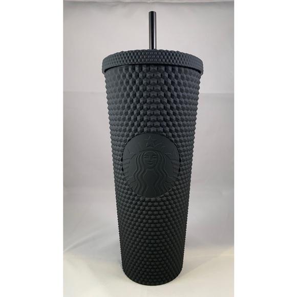 🖤 NEW Starbucks ⭐️ Matte Black Studded Tumbler 🖤